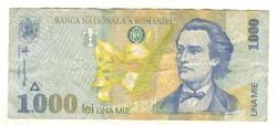 1000 lei 1998 Románia