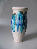 Retro kerámia váza (Bod Éva)