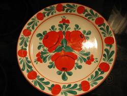 GRÁNIT rózsás fali tányér