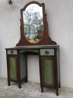 Rusztikus, vintage Pipere, fésülködőasztal