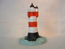 Világítótorony fém figura, Lighthouse