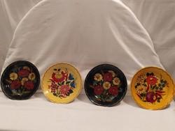 Kézzel festett gyönyörű Magyar kerámia tányérok díszítésre