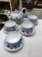 Meissen porcelán teás készlet