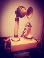 Antik retro telefon