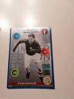 Puskás Ferenc limitált focikártya