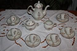 Antik  Bernadotte kávéskészlet