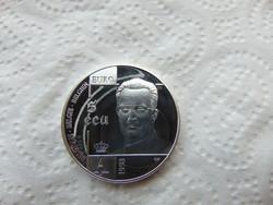 Belgium ezüst 5 ecu 1998 PP 23.15 GRAMM