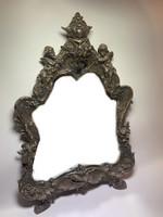 Antik öntöttvas tükör