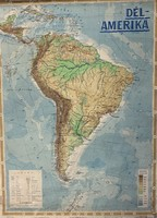 Dél-Amerika térképe