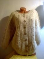 100% natúr gyapjú női pulóver felső over free size