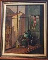 """Kosztolányi Kann Gyula (1868-1945): """"Kiálátás az ablakból"""""""