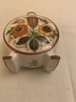 Antik Zsolnay mini kulacs 6 cm az egész