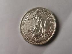 2016 Brittana ezüst 31,1 gramm 0,999