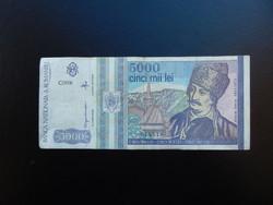 5000 lei 1993 Románia