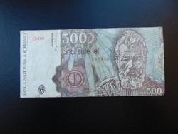 500 lei 1991 Románia  01