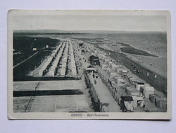 GRADO - ZELT-PANORAMA, FOTÓ 1910 , POST CARD, KÉPESLAP (9X14 CM) EREDETI