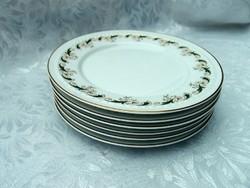 6 db süteményes tányér