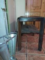 Art deco lerakóasztal dohányzóasztal