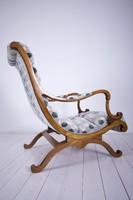 Art-nouveau stílusú pihenő fotel