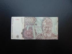 500 lei 1991 Románia  02