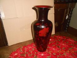 Zsolnay többtüzű eozin váza