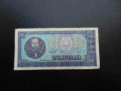 100 lei 1966 Románia  01