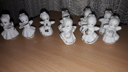 AKCIÓ!!  Angyalkák, hangszerrel karácsonyi díszítéshez