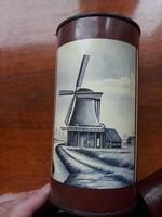 Holland cacao/kakaó vintage fém/pleh doboz