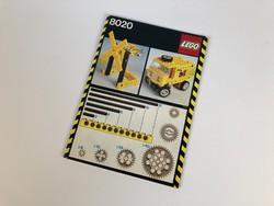 LEGO Technic 8020 Universal Building Set - Leírás összerakási füzet