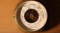 Antik barométer - Metall-Barometer