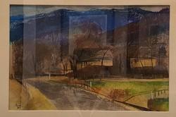 Eredeti, szignózott Ruttka Ferenc tájkép
