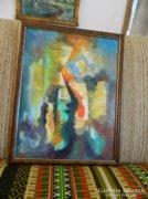 Ördög Zoltán festőművész spirituális festménye