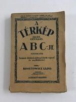 Kogutowicz Lajos: A térkép írás, olvasás ABC-je II. rész, 1931.