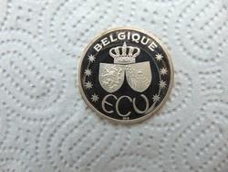 Belgium EZÜST ecu PP 1995  19.79 gramm  999 % ezüst