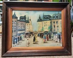 Ducsai István festmény 30x40cm
