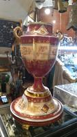 Alt wien porcelán váza, régi, 50 cm magas, gyűjtőknek kiváló.