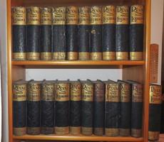 A több mint 100 éve kiadott Révai nagy lexikon teljes 21 kötete egyben eladó