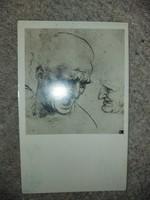 Leonardo da Vinci, retro képeslap
