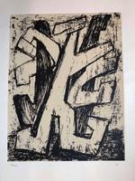 """MARTYN FERENC (1899-1986) - Léda emlékére- """"Szita"""" Ady mappából kiadva 1977 Párizs 39/100db"""