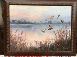 Kovrig Miklós vadászfestmény