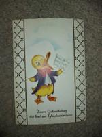 Kruger, Made in Western Germanie, dombornyomott képeslap a 60-as évekből, nagyon jó àllapotban!