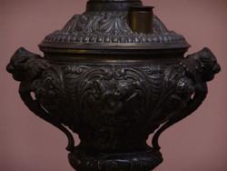 Antik Spiáter petróleum lámpa