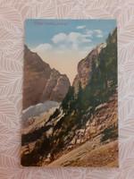 Régi képeslap 1947 Luknja képes levelezőlap