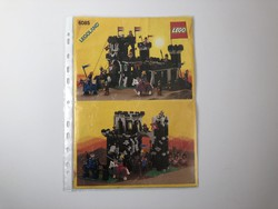 LEGO 6085 - Black Monarch's Castle Leírás összerakási füzet 1988