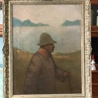Rippl Rónai férfi portré