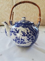 Eladó régi porcelán keleti cseresznyefa virágos teás kanna!