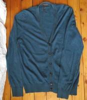 S. Oliver M-es férfi pulóver,kardigán (pamut,gyapjú,kasmir)