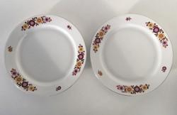 Alföldi tányérok gyönyörű virág mintával