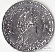 Goethe emlékérem