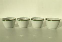 Hollóházi porcelán kupicák